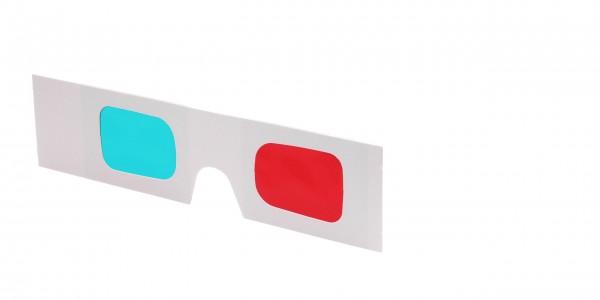 3D-Vorhalter rot/cyan