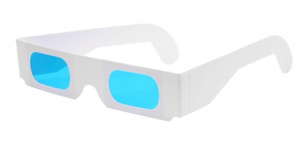 Farbfilterbrille cyan