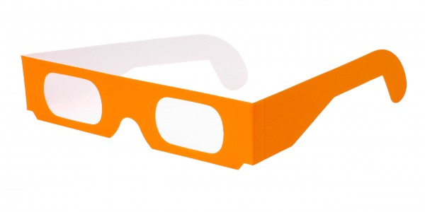 Spektralbrille neon orange