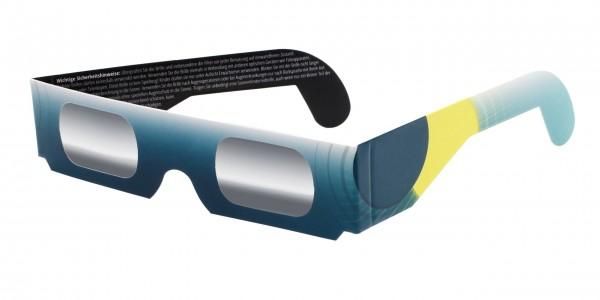 Sonnenfinsternisbrille mit Verlauf