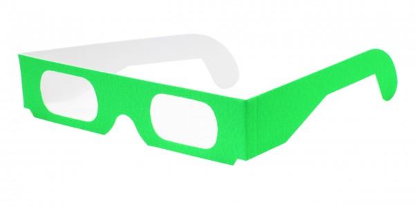 Spektralbrille neon grün