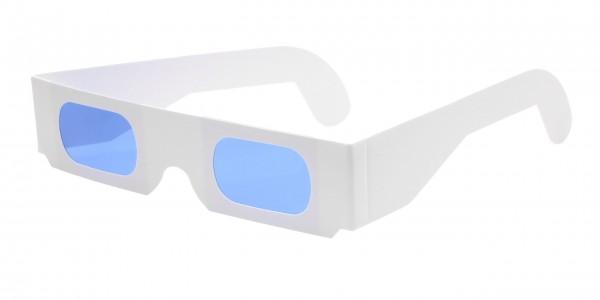 Farbfilterbrille hellblau