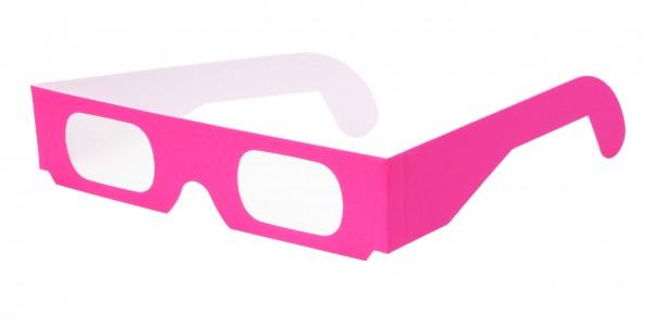 Spektralbrille neon pink