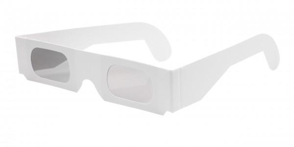 3D Brille mit linearen Polfiltern